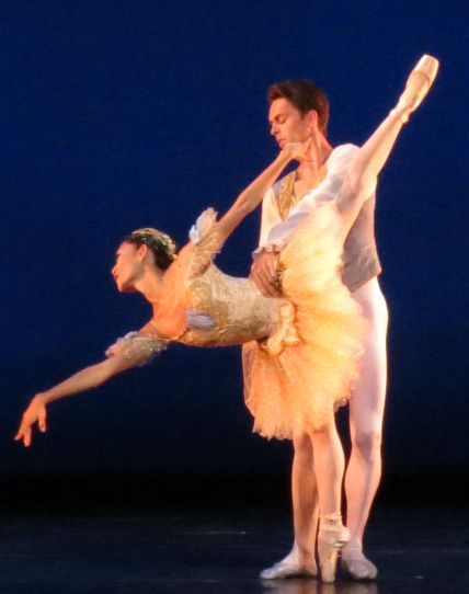 Margaret Severin-Hansen and Gabor Kapin in A Classical Ballet