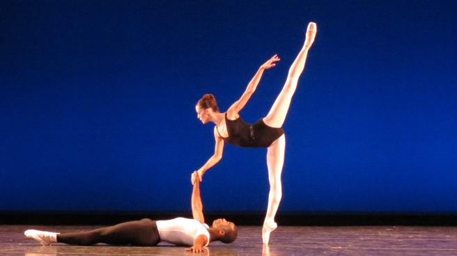 Lara O'Brien and Eugene Barnes