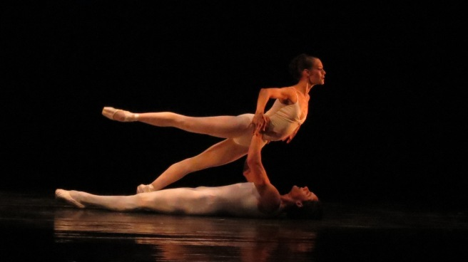 Lara O'Brien and Marcelo Martinwz in Meditation from Thais