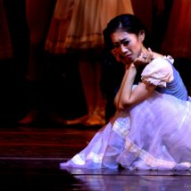 Margaret Severin-Hansen in Giselle's heartbreaking last moment