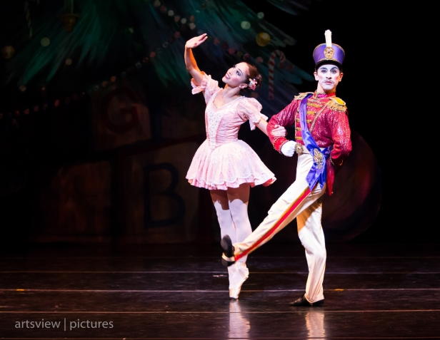Jan Burkhard and Pablo Javier Perez in Steadfast Tin Soldier, choreography by George Balanchine