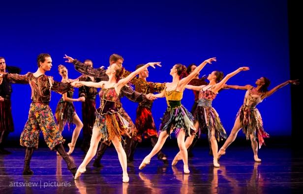 Rondo Alla Zingarese, choreography by George Balanchine