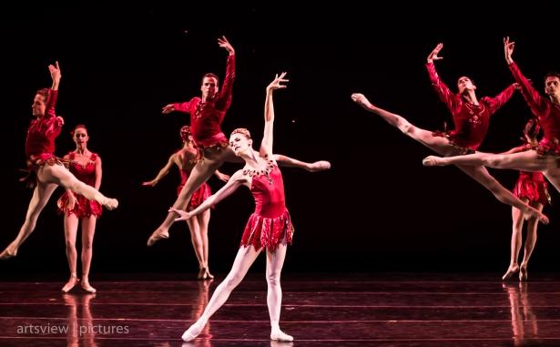 Lara O'Brien in Rubies, choreography by George Balanchine