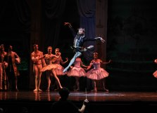Eugene C. Barnes III as the Raven in Sleeping Beauty