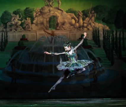 Lindsay Purrington as Carabosse in Sleeping Beauty