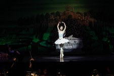 Lara O'Brien as the Lilac Fairy in Sleeping Beauty