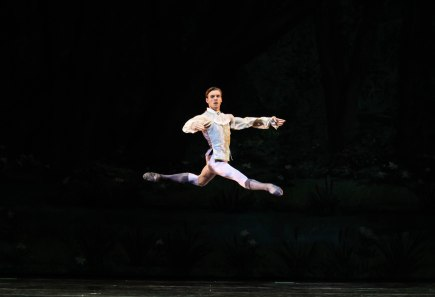 Richard Krusch as Prince Desire in Sleeping Beauty