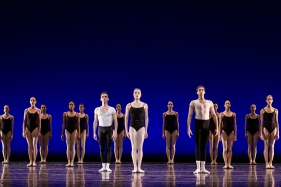 The Four Temperaments choreographed by George Balanchine